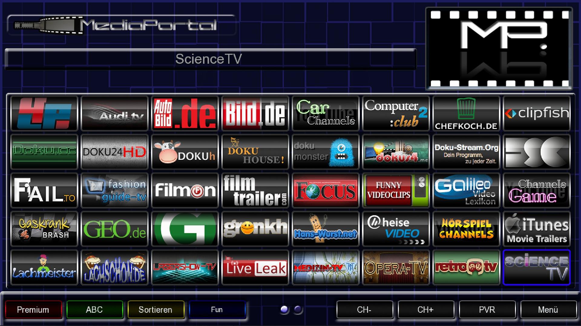mediaportal serien stream